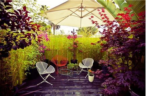 欧式别墅园林景观设计